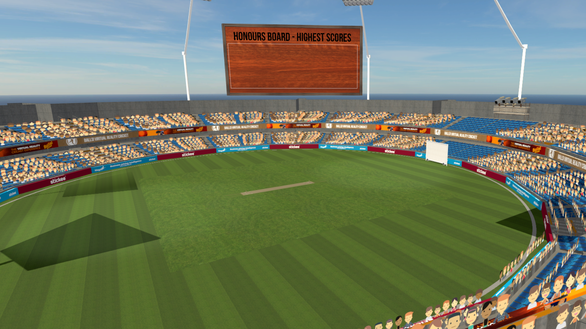 Virtual Reality Cricket